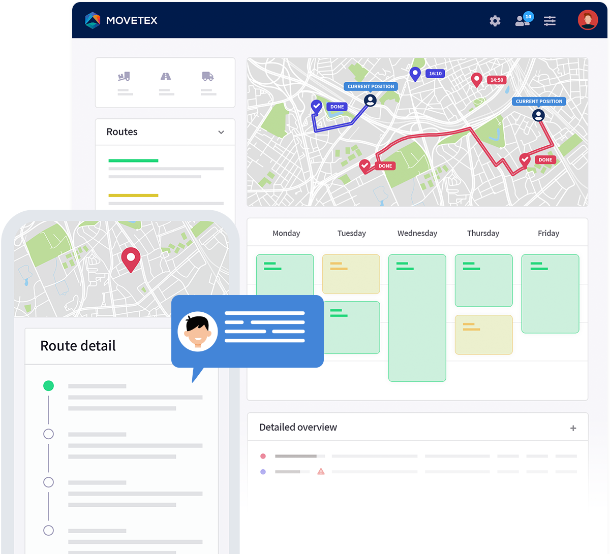 Movetex planning software